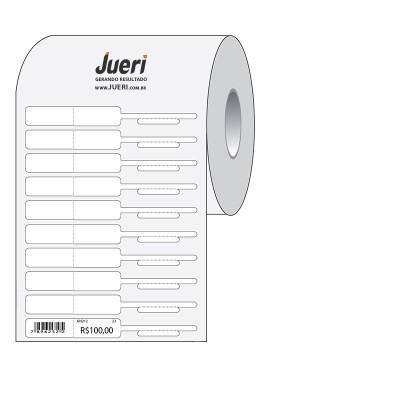 Detalhes do produto Etiqueta Anel para Semijoias Com Dobra - 90X12MM